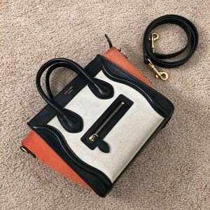 Celine nano tri-color